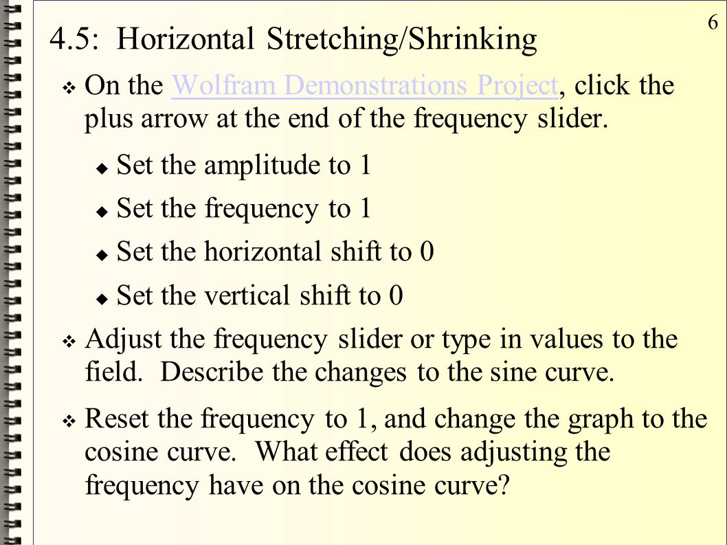 37 4.8: Harmonic Motion  Motions that repeat in a regular cycle are periodic motions, ie: springs.
