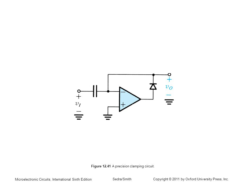Microelectronic Circuits, International Sixth Edition Sedra/Smith Copyright © 2011 by Oxford University Press, Inc.