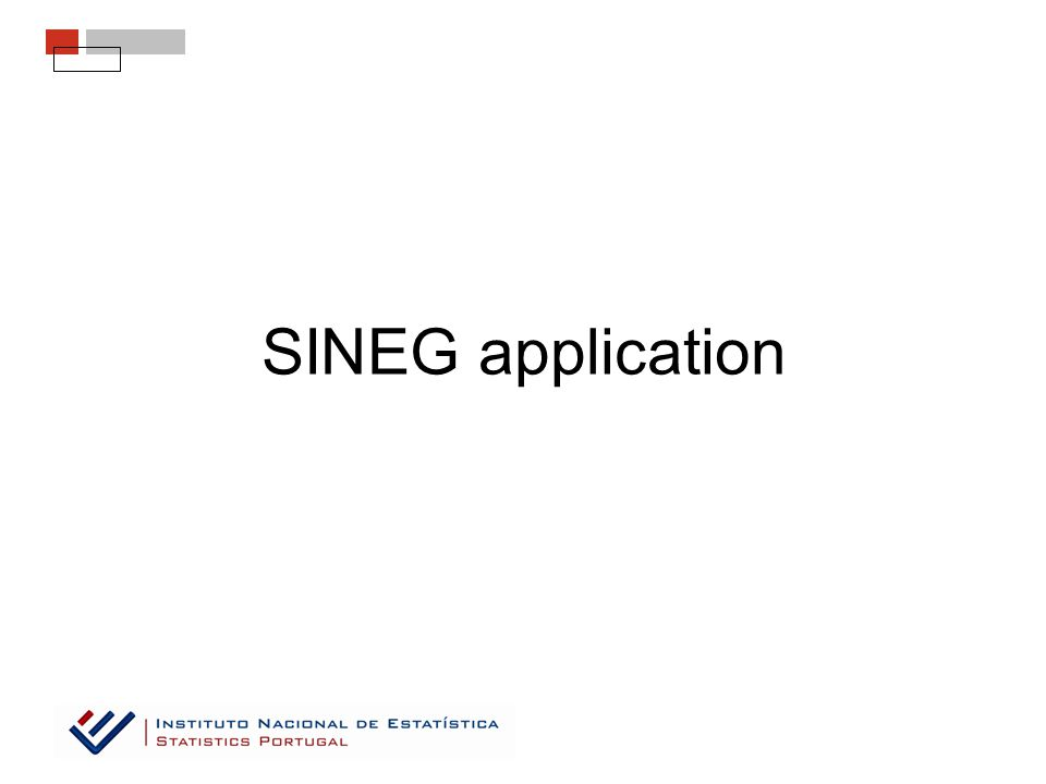 SINEG application