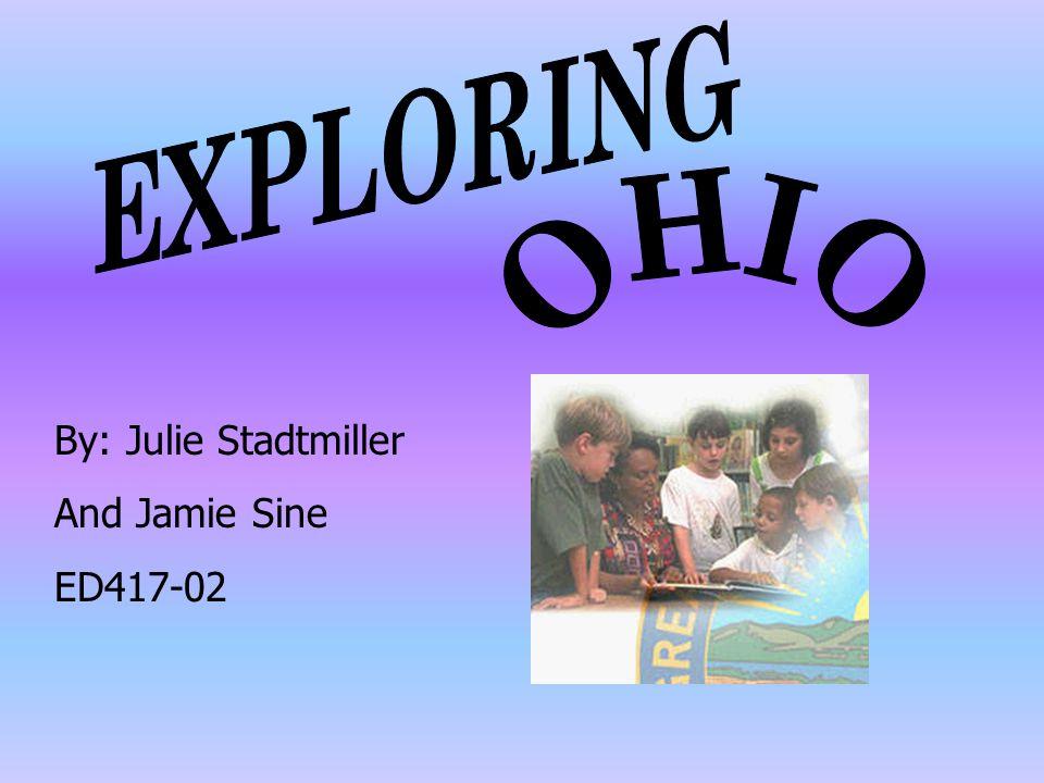 By: Julie Stadtmiller And Jamie Sine ED417-02