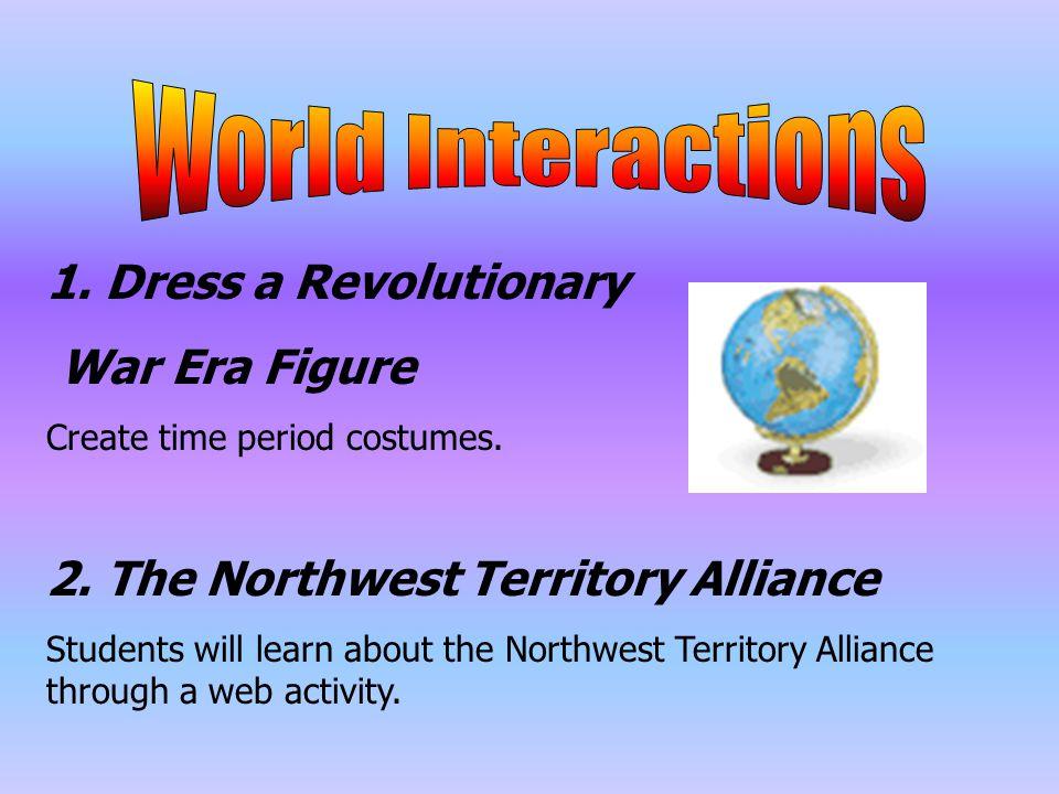 1. Dress a Revolutionary War Era Figure Create time period costumes.