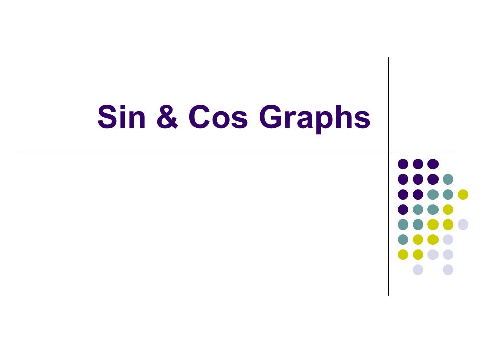 Sin & Cos Graphs