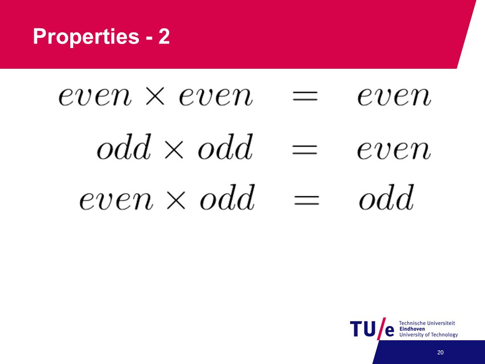 Properties - 2 20