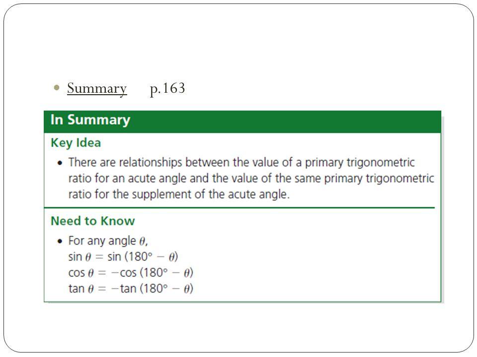Summary p.163