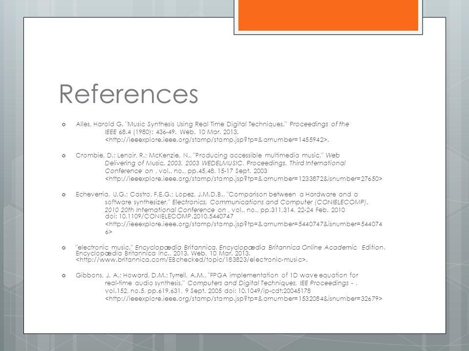 References  Alles, Harold G.