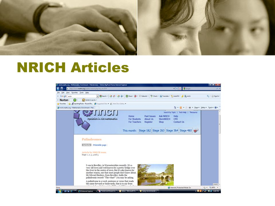 NRICH Articles
