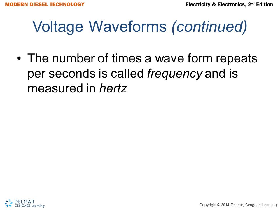 Copyright © 2014 Delmar, Cengage Learning Delta and Wye Wound Stators Figure 7-20 Stator winding arrangements.
