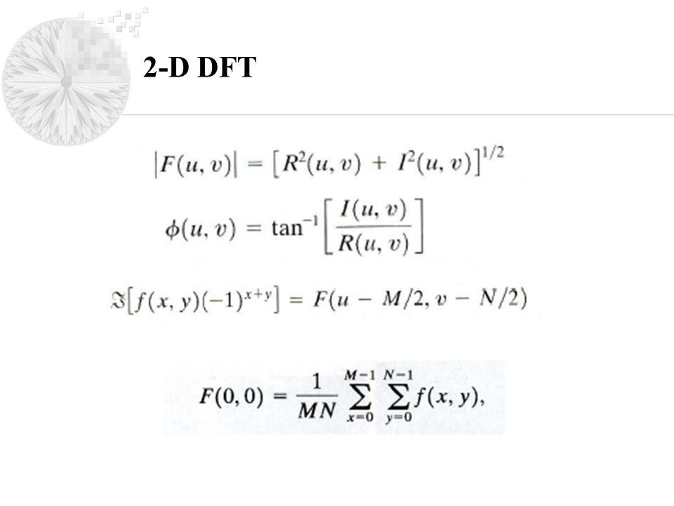 2-D DFT