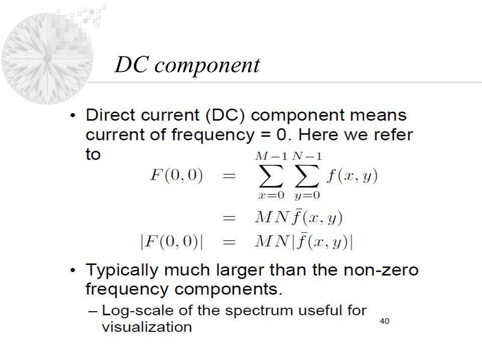 DC component