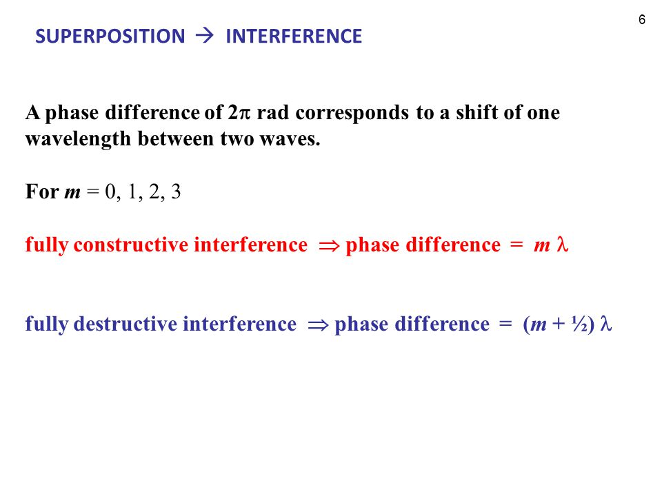 7 Which graph corresponds to constructive, destructive and intermediate interference .