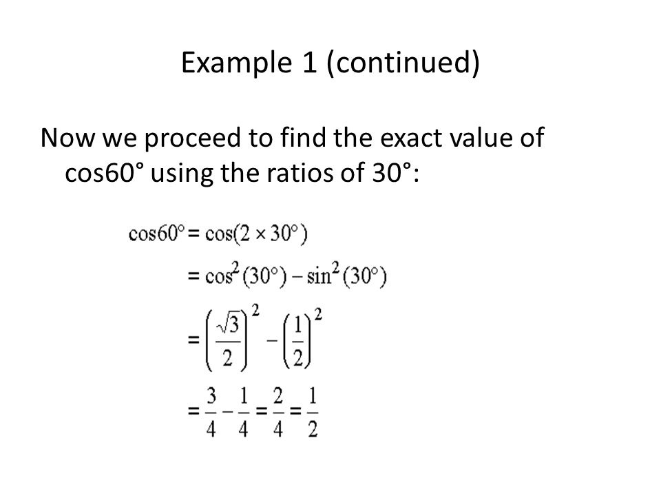Example 2 Find cos 2x if sin x = -12/13 (in Quadrant III).