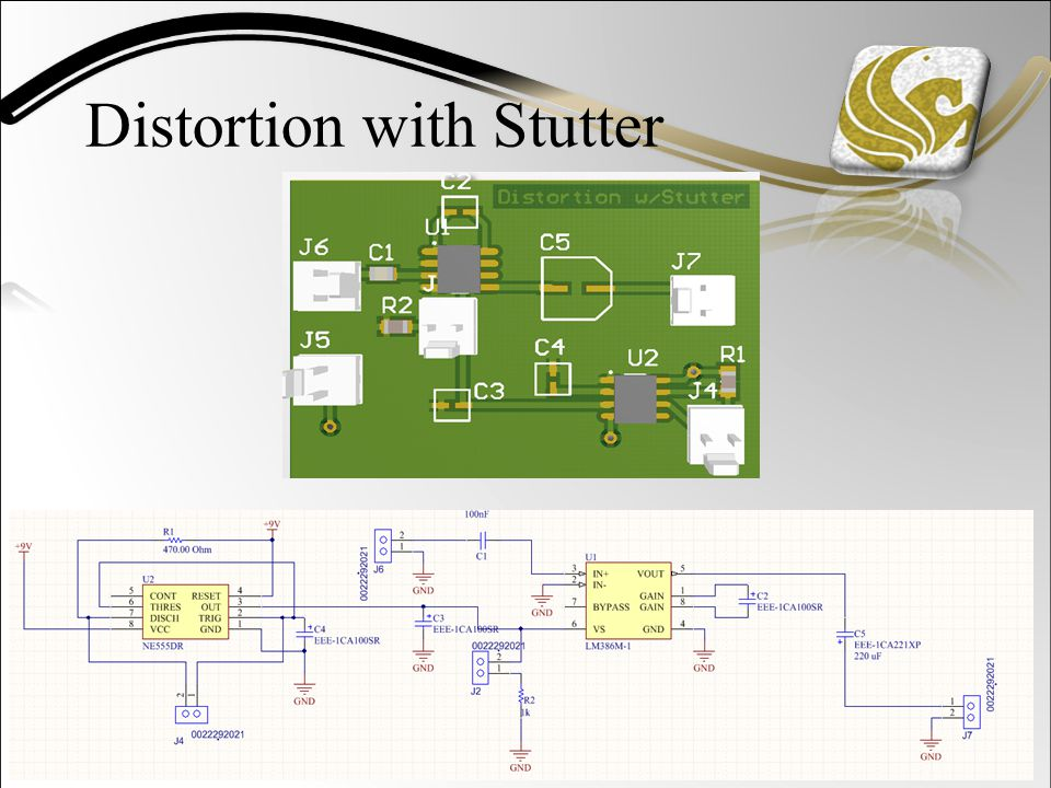 Distortion with Stutter