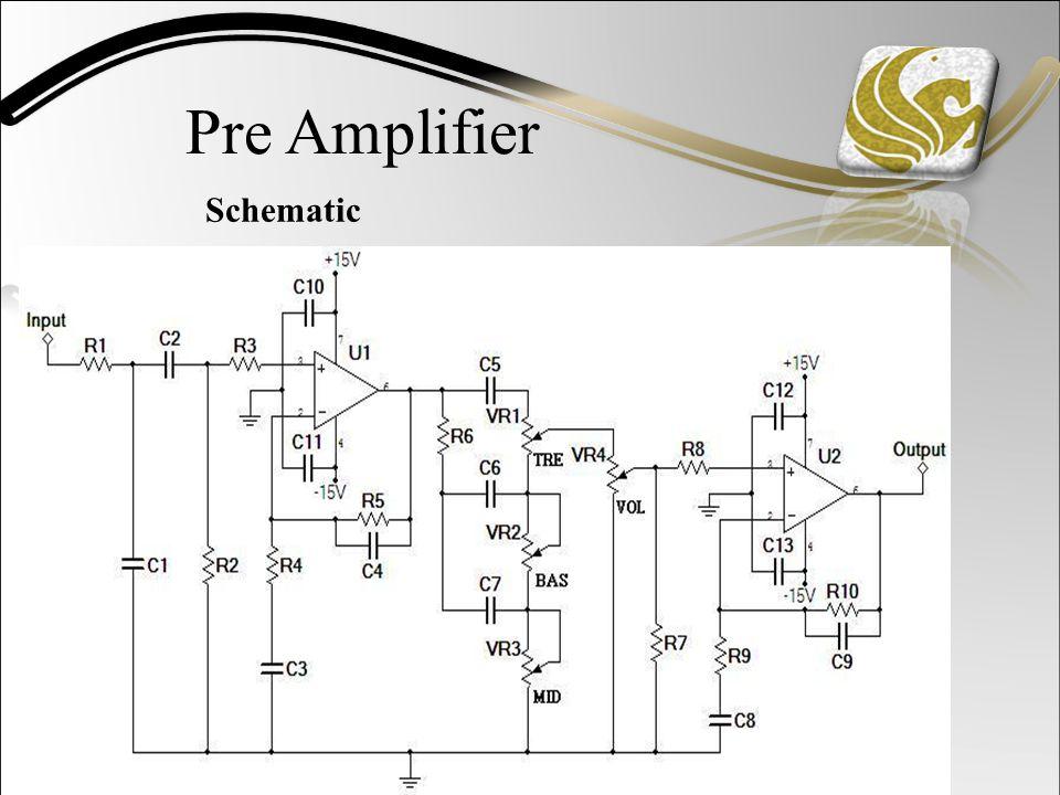Pre Amplifier Schematic