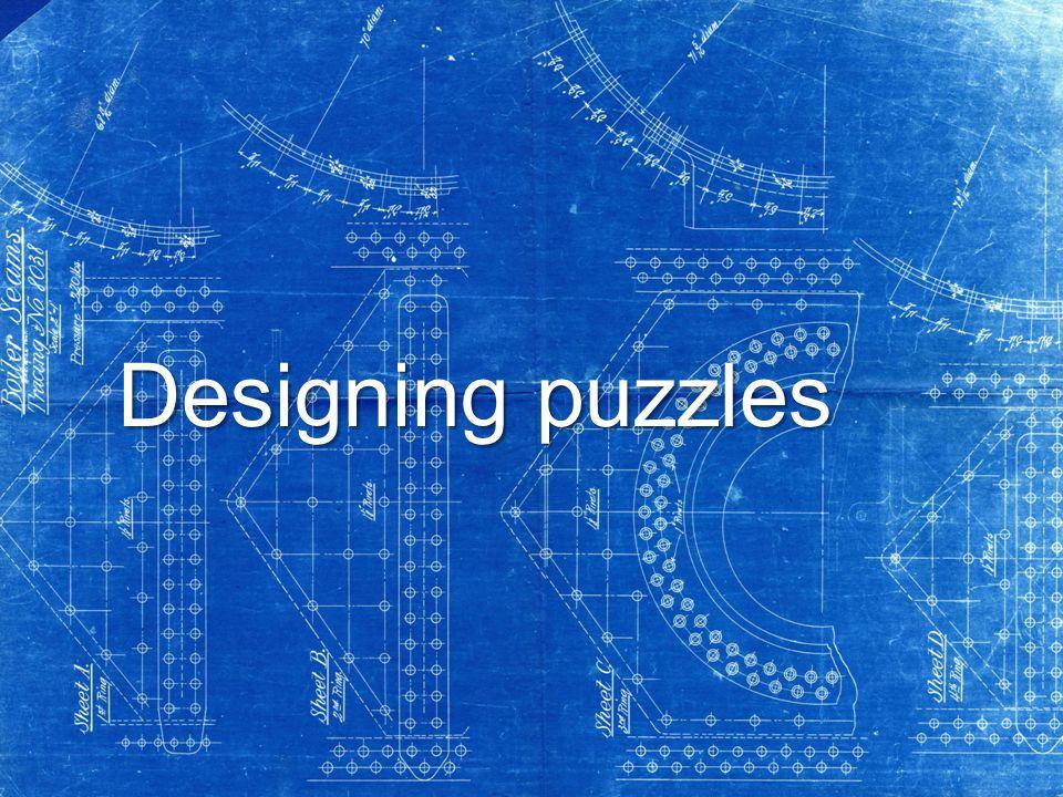 Designing puzzles