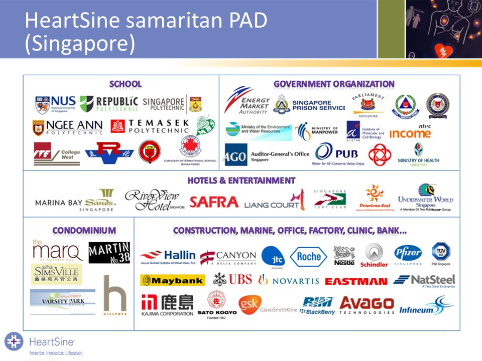 HeartSine samaritan PAD (Singapore)