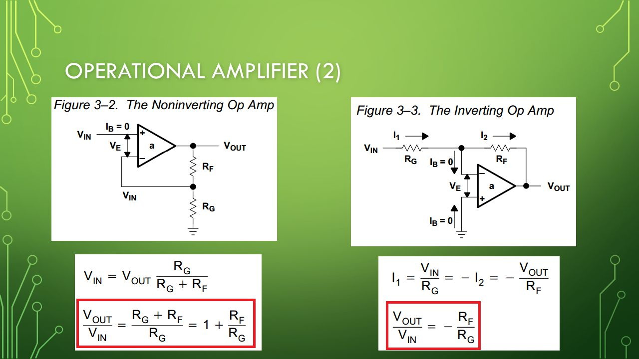 OPERATIONAL AMPLIFIER (2)