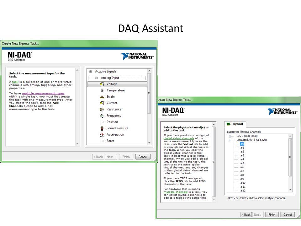 DAQ Assistant