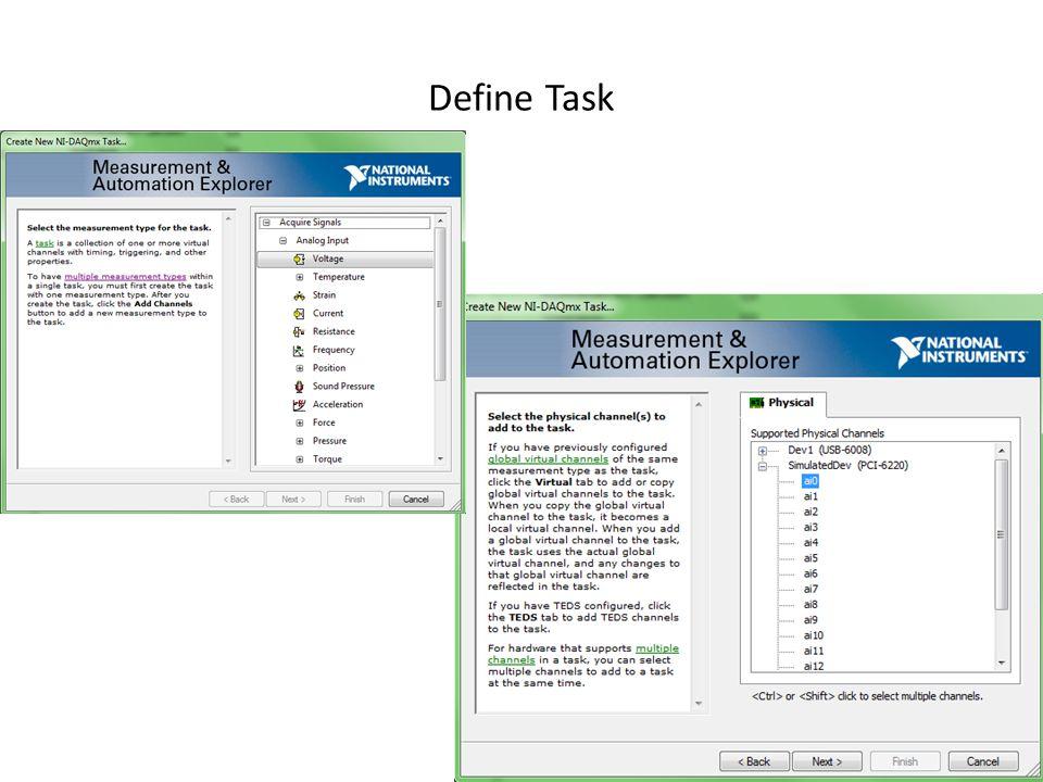 Define Task