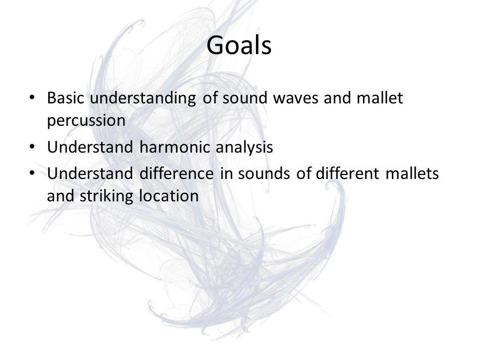 Harmonic Analysis of Mallet Percussion By Max Candocia