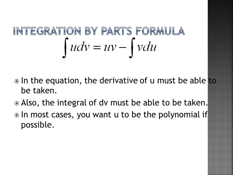  In the equation, the derivative of u must be able to be taken.
