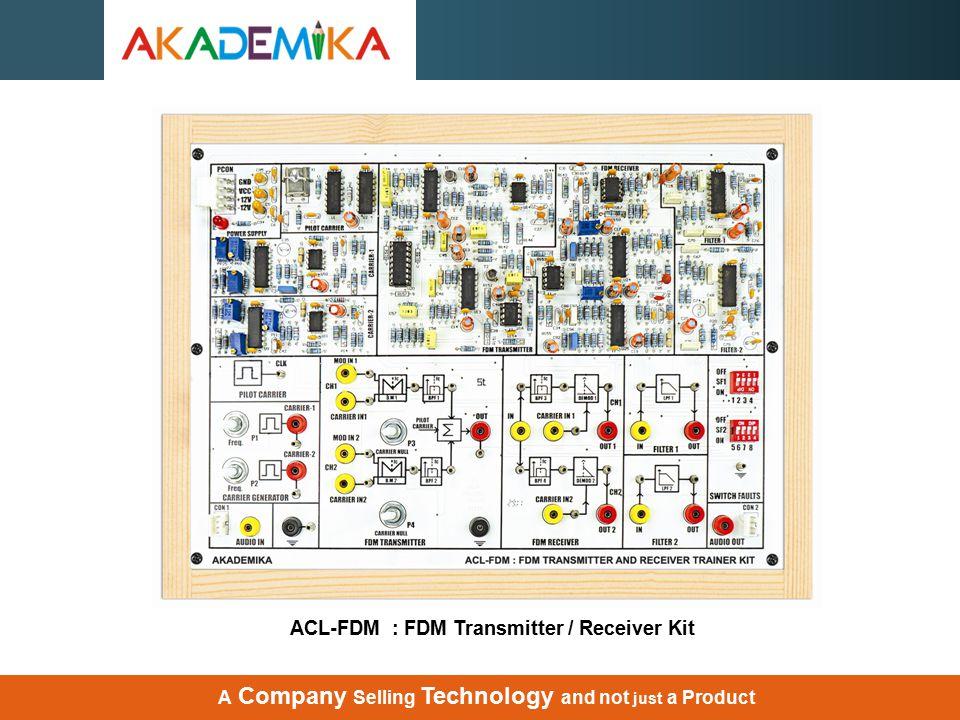 ACL-FDM : FDM Transmitter / Receiver Kit