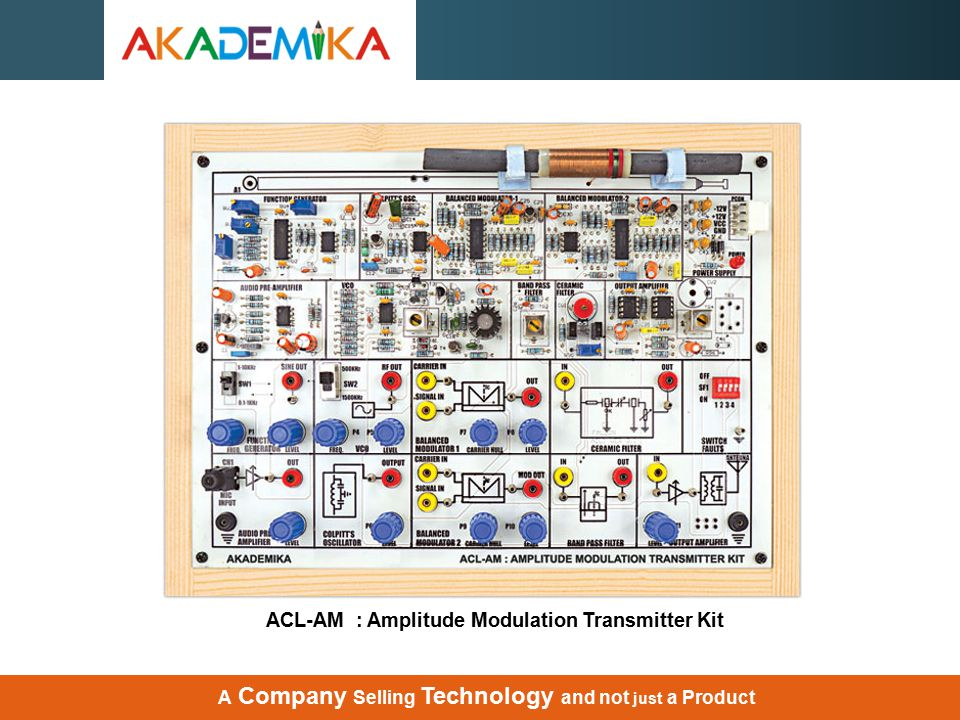 ACL-AM : Amplitude Modulation Transmitter Kit