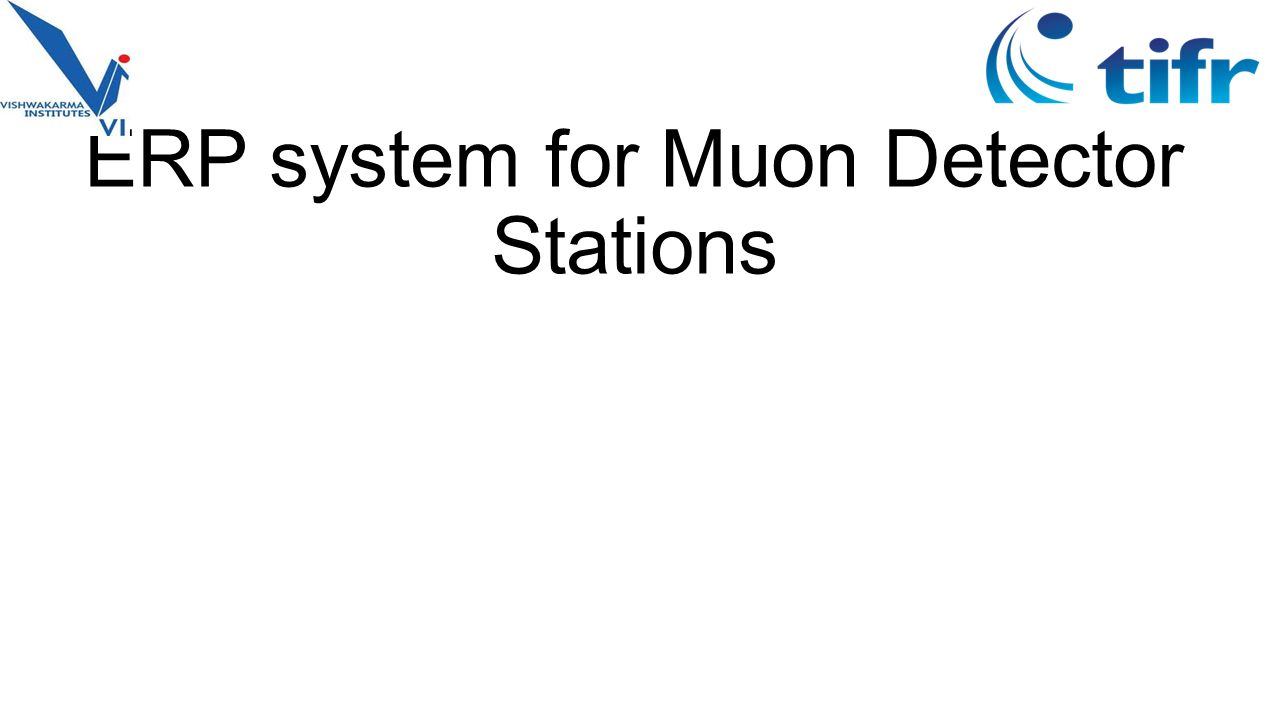 ERP system for Muon Detector Stations