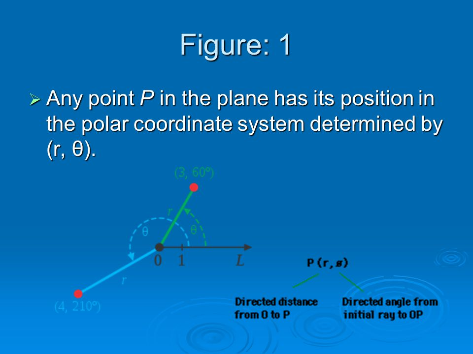 Some Points With Their Polar Coordinates