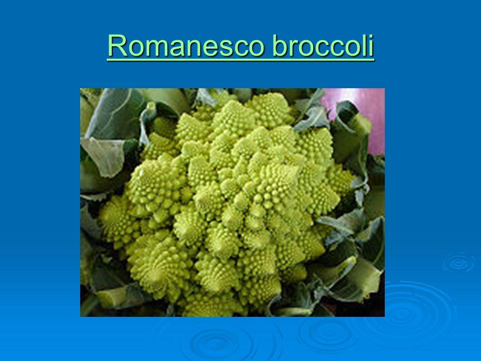 Romanesco broccoli Romanesco broccoli