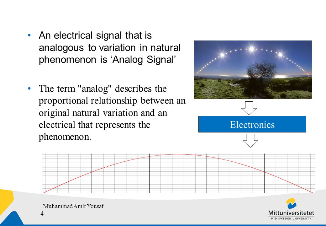 Electronics that reads Nature  Primary information from natural phenomena comes in the form of optical, acoustic, thermal or chemical signals.