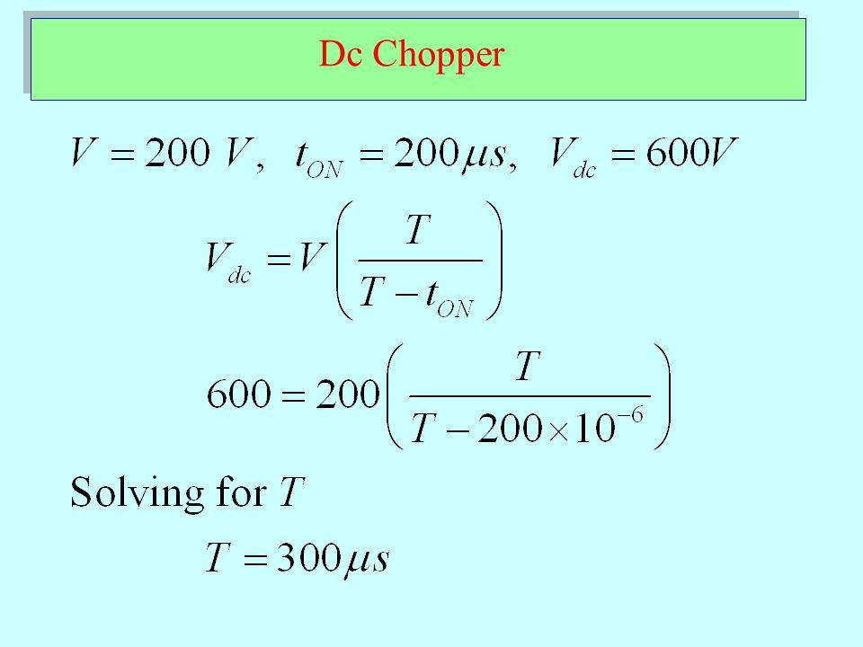 Dc Chopper