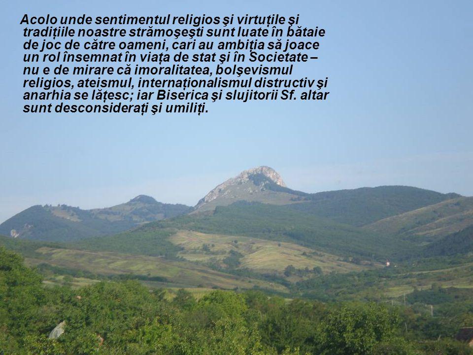 Nu ajunge nici rugăciunea, nici credinţa, nici nădejdea, nici mărturisirea, nici cuminecarea noastră din toate Duminecile.