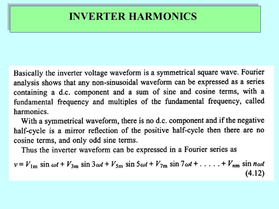 INVERTER HARMONICS