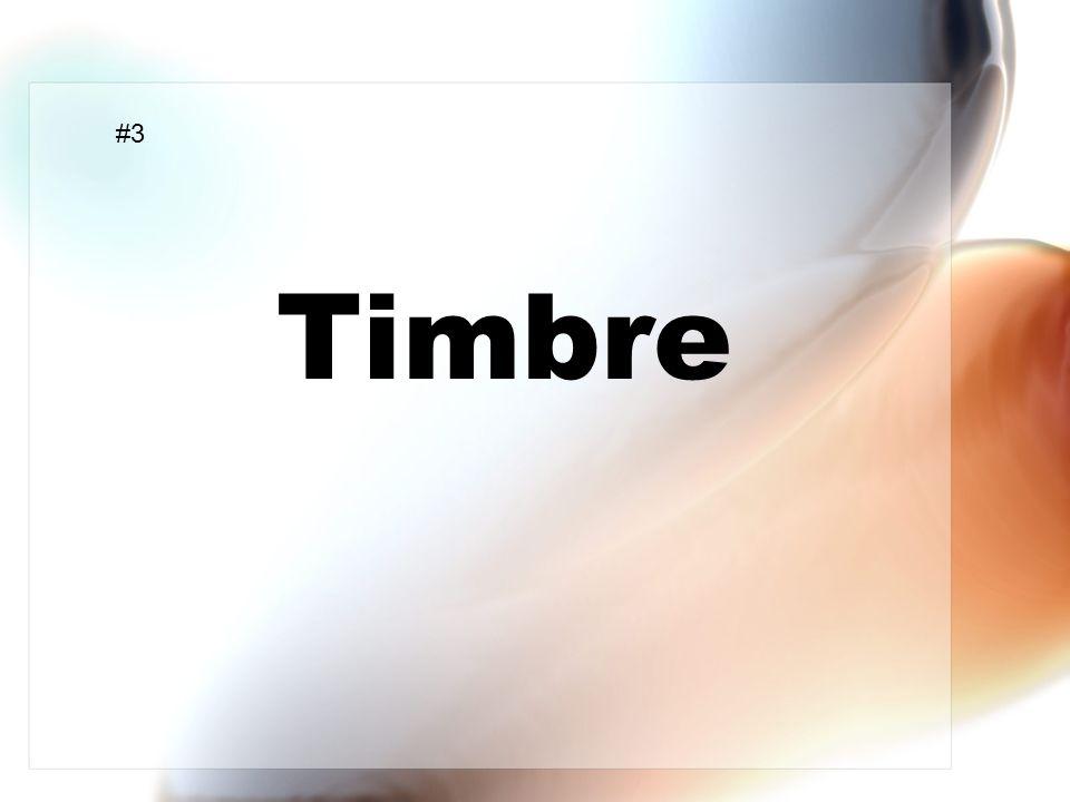 Timbre #3