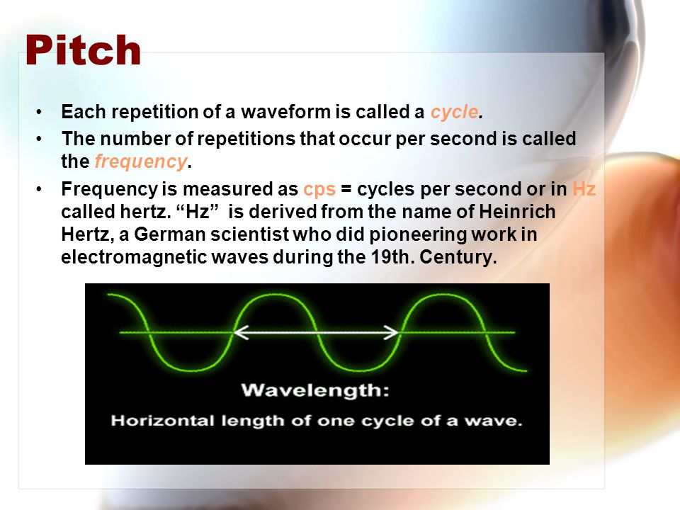 Triangle Wave With a triangle wave only the odd harmonics are present.