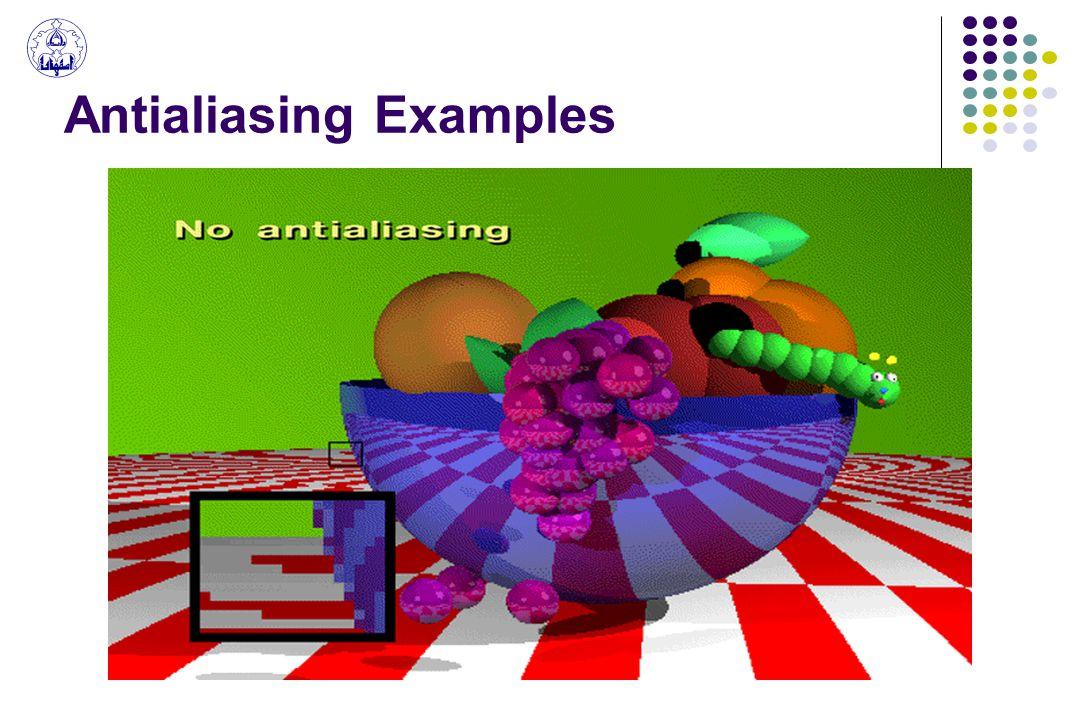 Antialiasing Examples