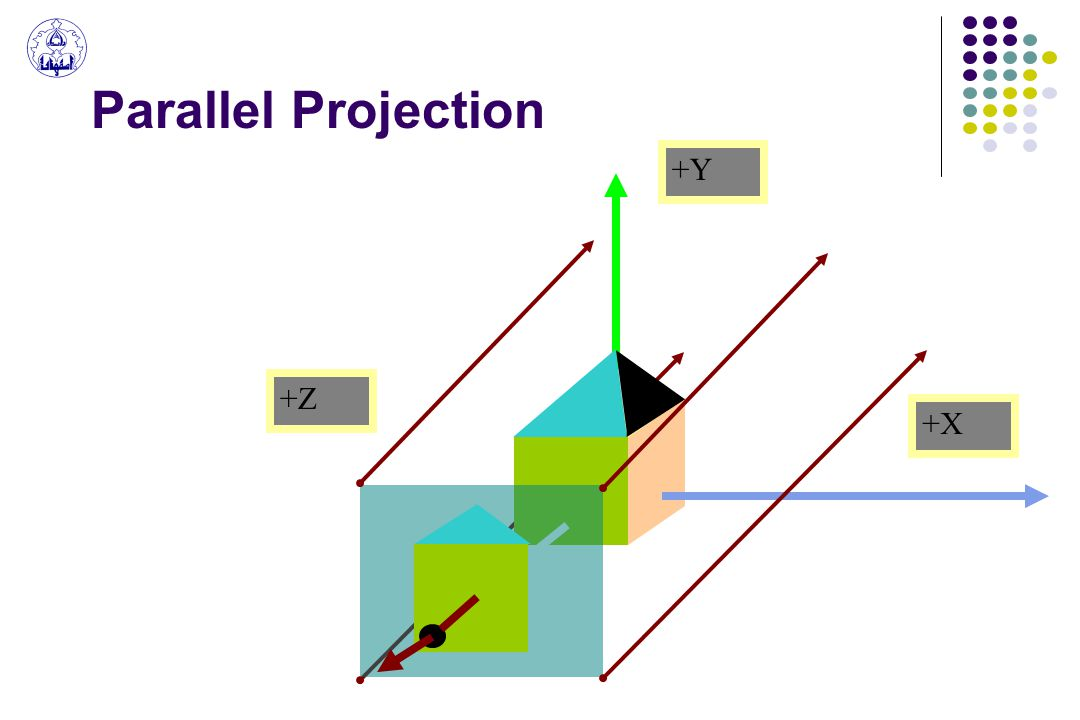 Parallel Projection +X +Y +Z