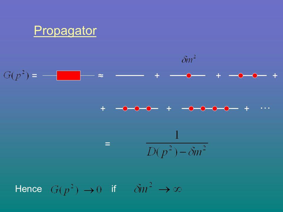 ++ ++ … = + + Propagator = ifHence ≈