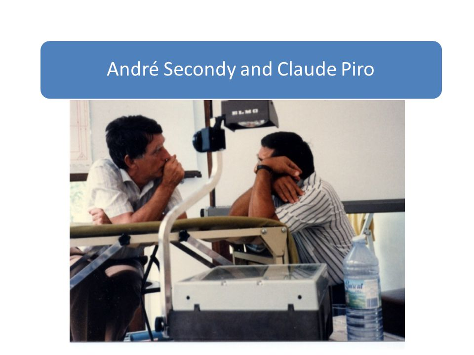 André Secondy and Claude Piro
