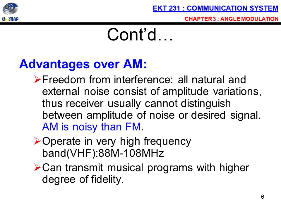 37 Average Power The average power in unmodulated carrier The total power in the angle modulated carrier.