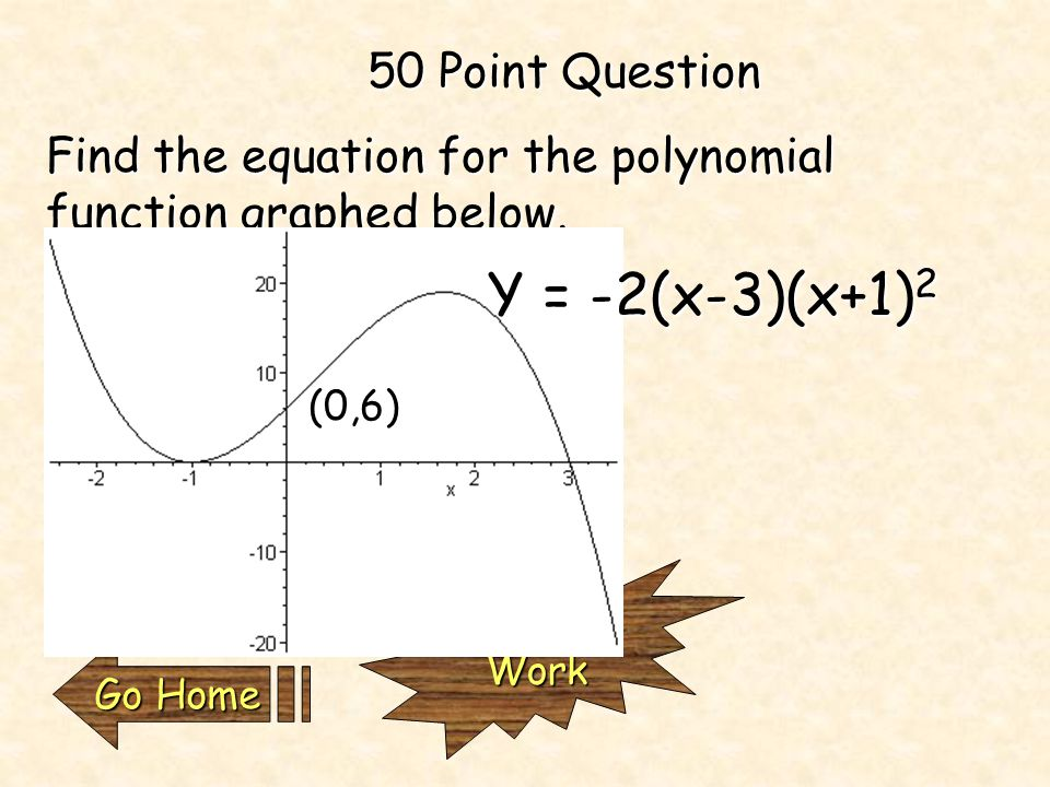 25 Point Question CheckWork Go Home Go Home Find the equation for a sine function that matches the graph below. Y = 2sin(x-π/4) +4 (π/4, 4) (9π/4,4)