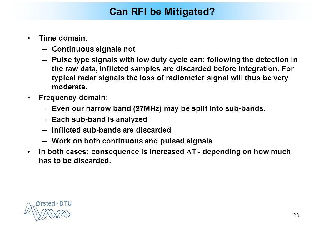 Ørsted DTU 28 Can RFI be Mitigated.