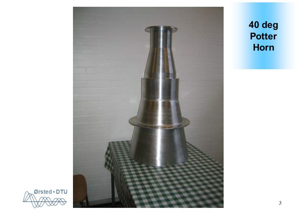 Ørsted DTU 3 40 deg Potter Horn