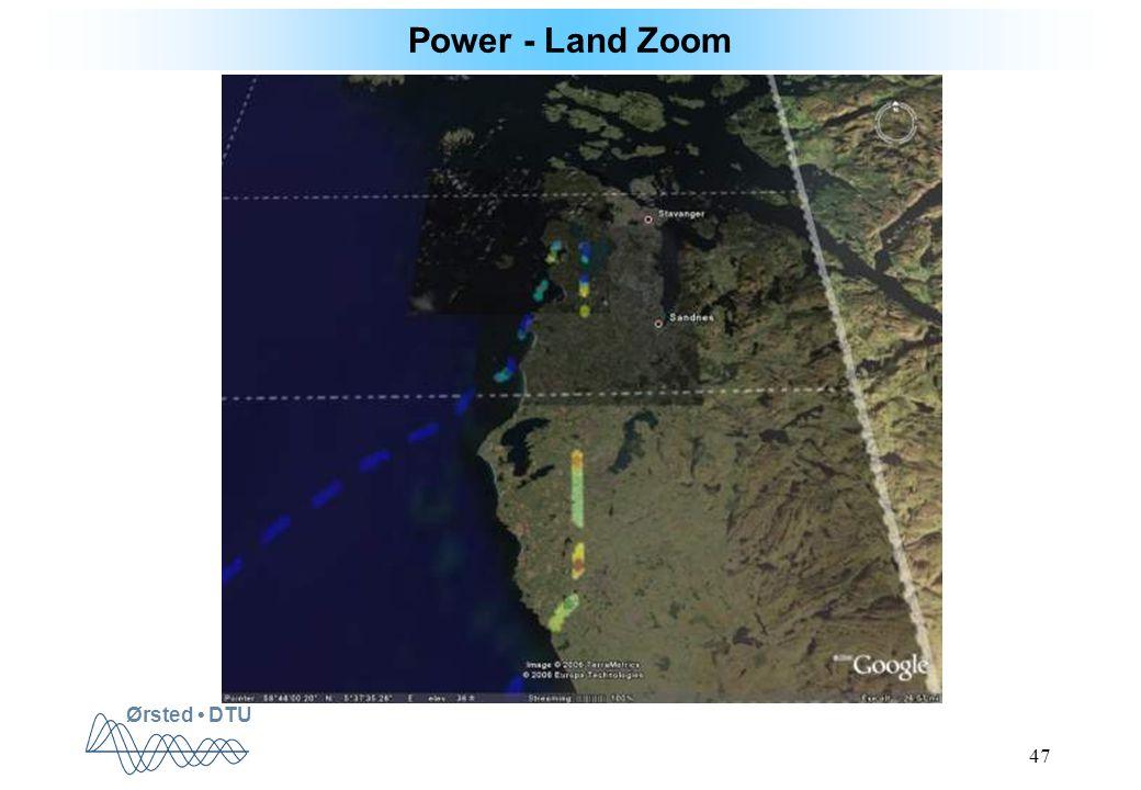Ørsted DTU 47 Power - Land Zoom