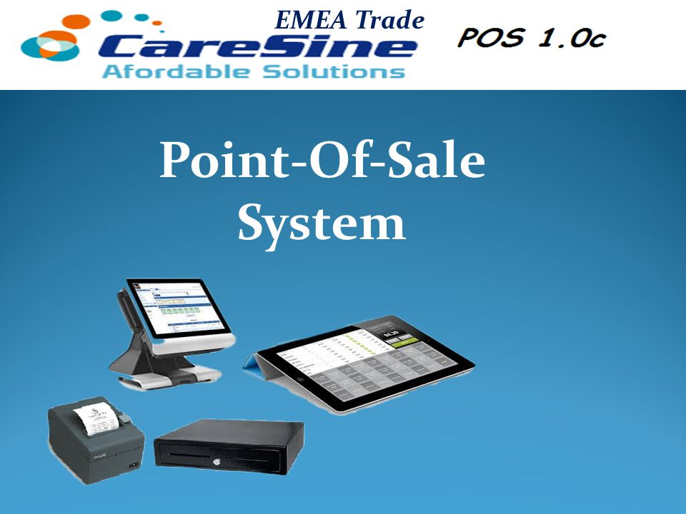CareSine Pos 1.0c A comprehensive Restaurant and Café management system.