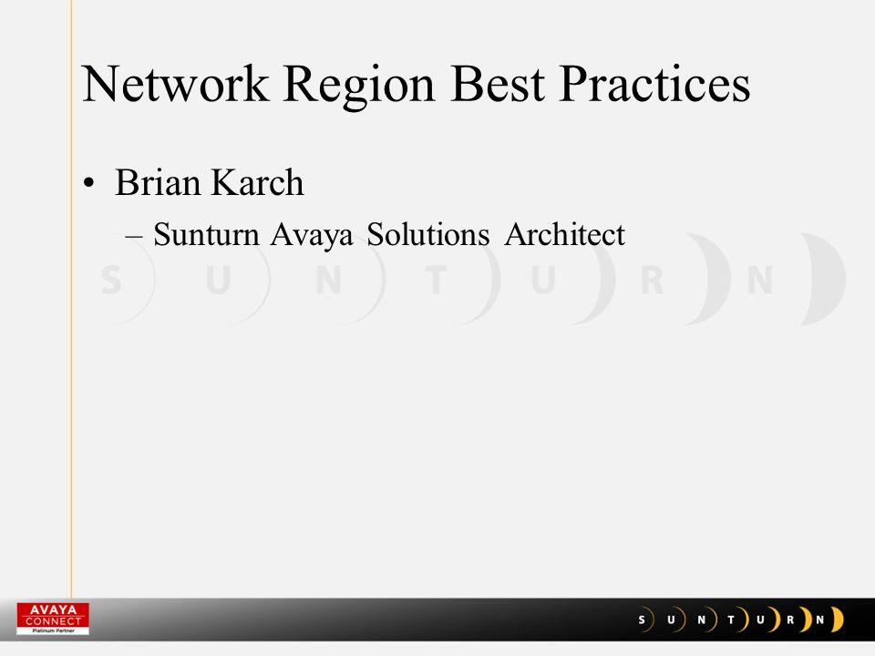 Avaya Diagnostic Server Rob Nixon –Sunturn Operations VP