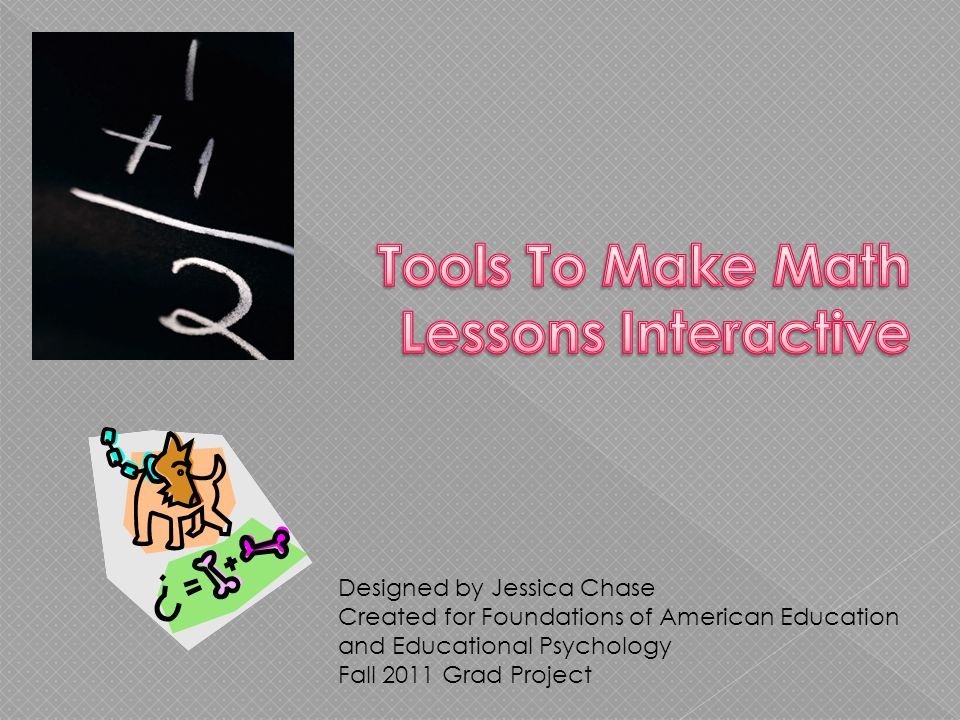 Designed by Jessica Chase Created for Foundations of American Education and Educational Psychology Fall 2011 Grad Project