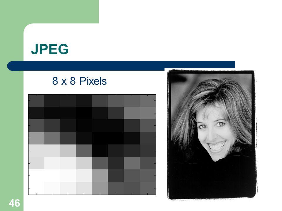 JPEG 8 x 8 PixelsImage 46