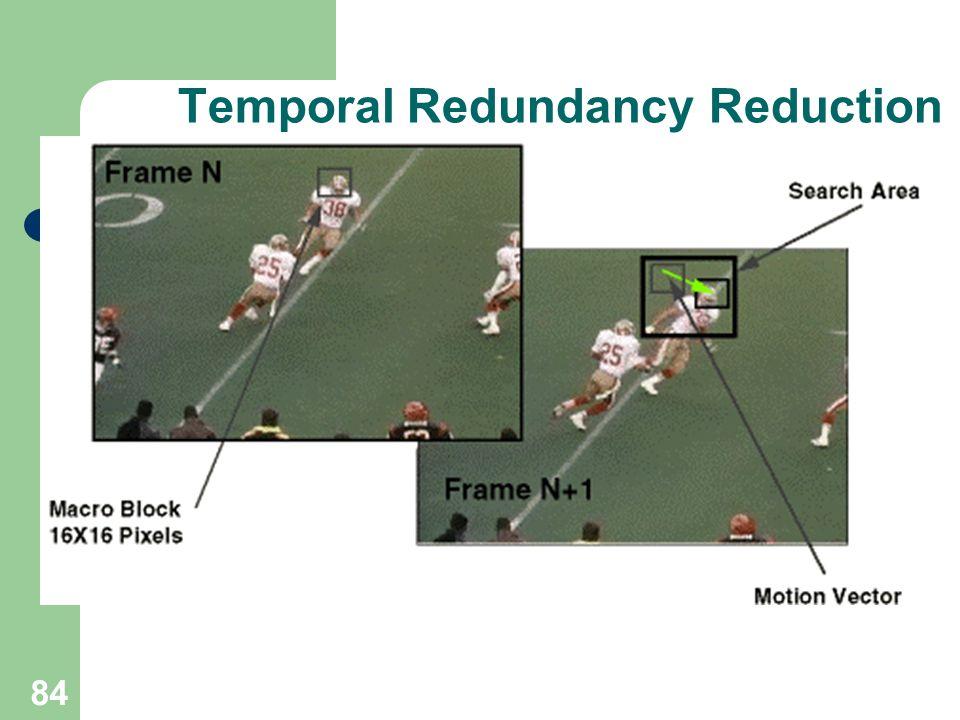 Temporal Redundancy Reduction 84