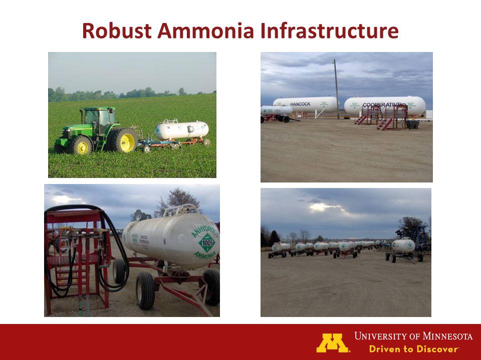 Robust Ammonia Infrastructure